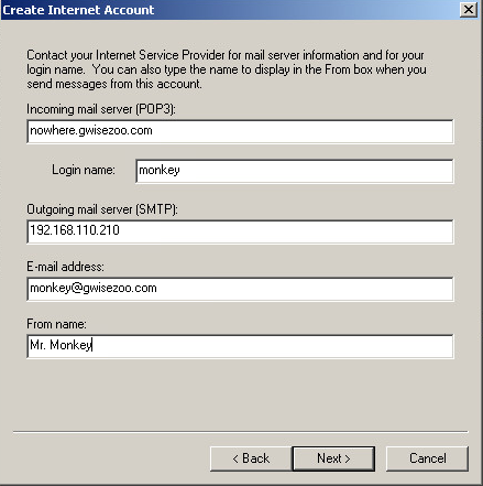 how to change your email address using
